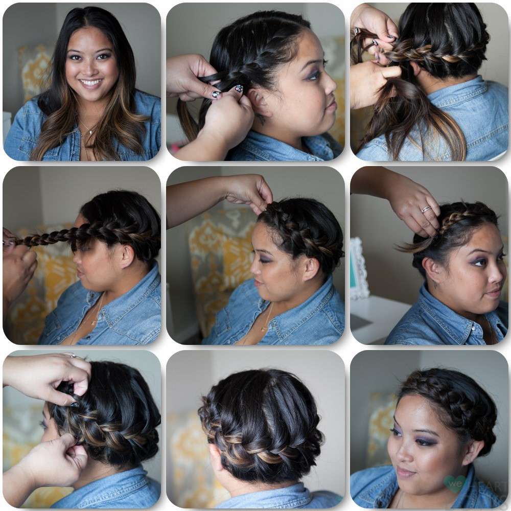 African American Crown Braid Hairstyles Here is another fun braid